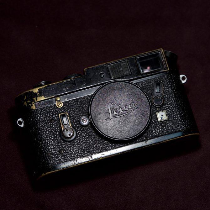 珍品 Leica M4 black paint
