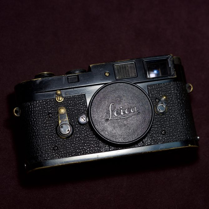 """珍品 Leica M2 Black Paint """"1005"""" the third batch"""