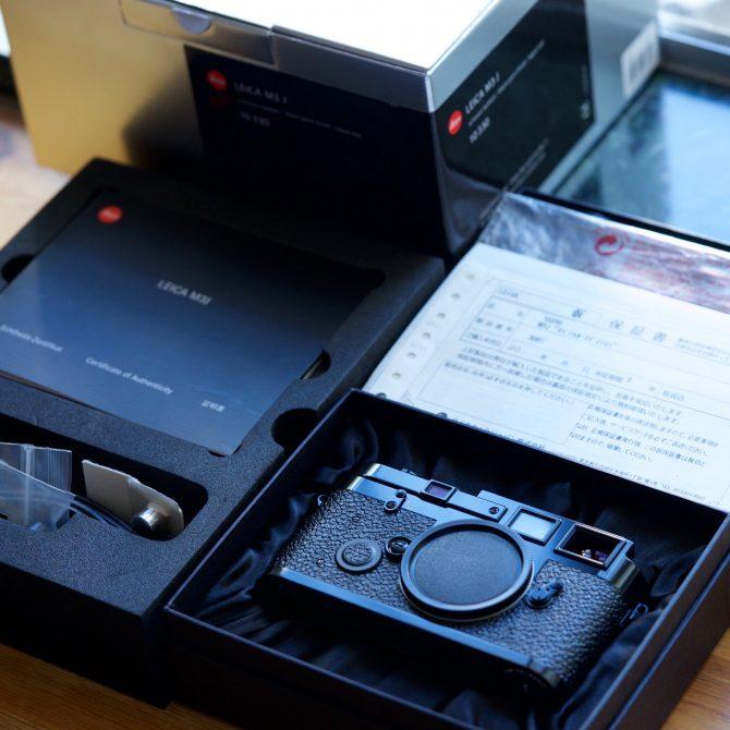 大珍品 Leica M3j Black Paint 10330