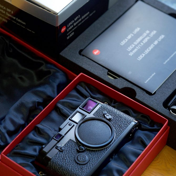 大珍品 Leica MP3 LHSA Special Edition Black Paint 10302