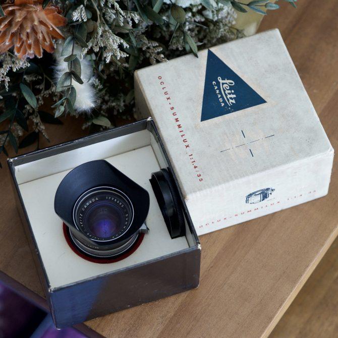 """大珍品 Leica Summilux 35/1.4 v1 """"Steel Rim"""""""