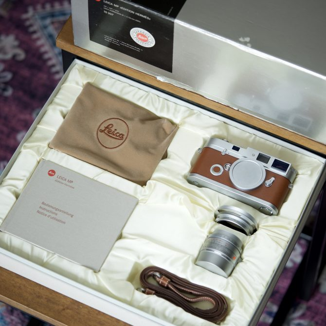 珍品 Leica MP Hermès Edition 10307