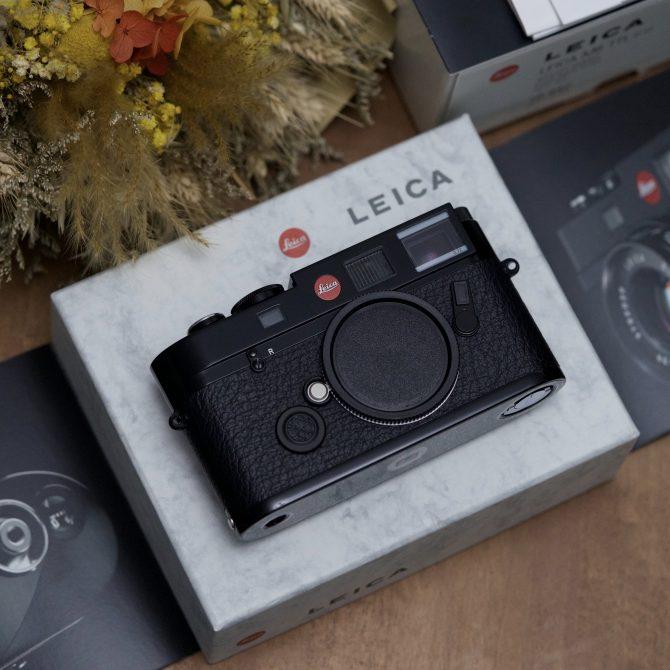 Leica M6 TTL 0.72 Millennium Black Paint 10442