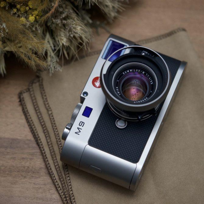 """Leica Summilux 35/1.4 v2 Pre-a """"Titanium"""" 11860"""