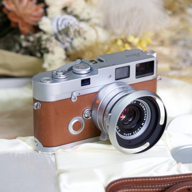 "Leica MP ""Hermès"" Edition with Summicron 35/2 Asph lens set"