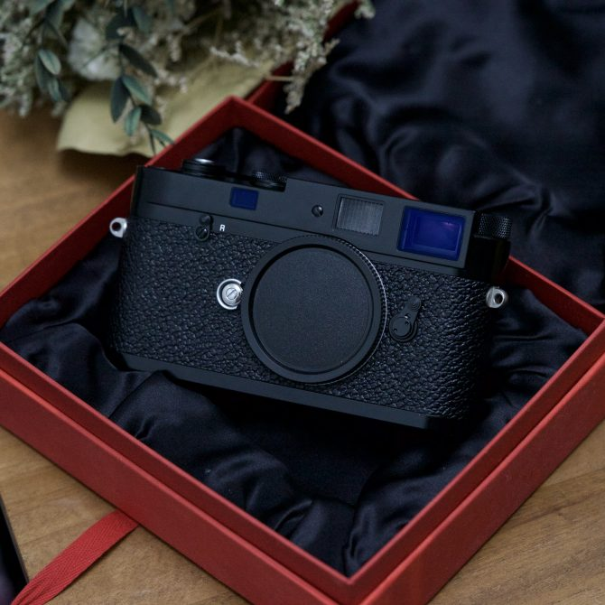 Leica MP Classic Black Paint Special Edition 10317
