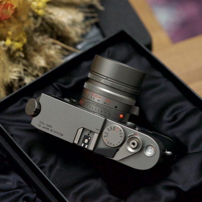 """珍品 Leica M7 Titanium """"50 Jahre LEICA M System"""" 10570 Limited Edition"""