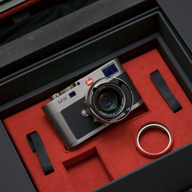 "大珍品 Leica M9 ""Titanium"" with Summilux 35/1.4 Special Edition 10715"