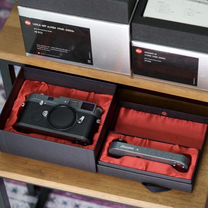 珍品 Leica MP Leicavit M Hammertone LHSA 1968-2003 Special Edition 10312