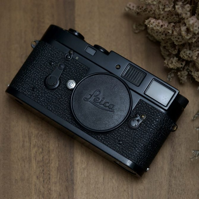"大珍品 Leica M2 Black Paint Last Batch ""1162xxx"""