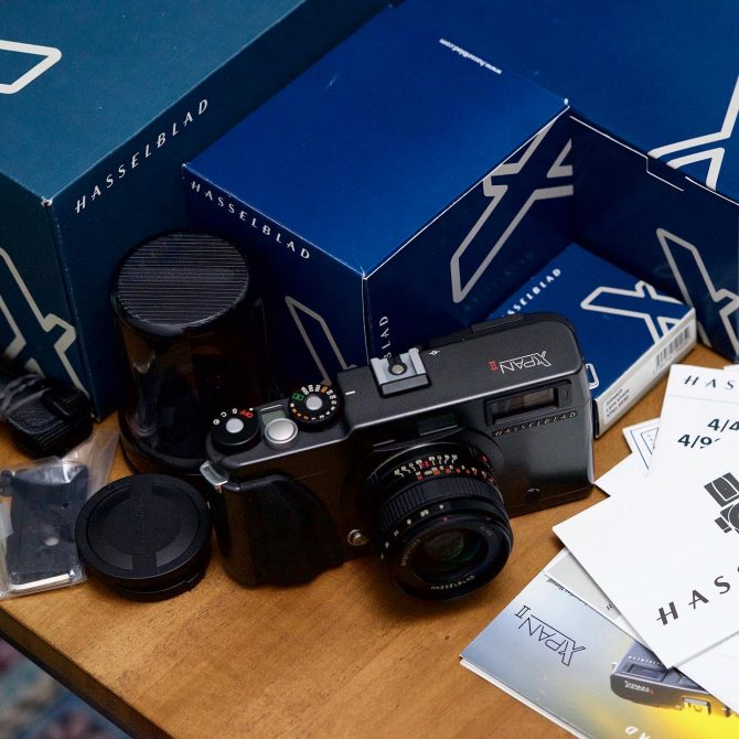 珍品 Hasselblad XPan II with 45mm lens set