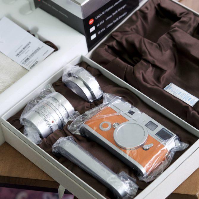 大珍品 Leica M7 Edition 'Hermès' Orange 10553