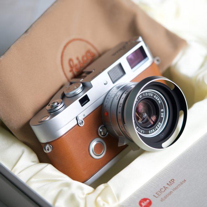 大珍品 Leica MP Edition 'Hermès' 10307