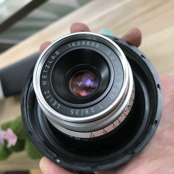 """珍品 Leica Summaron 35/2.8 """"little 8elements"""" x """"888"""""""