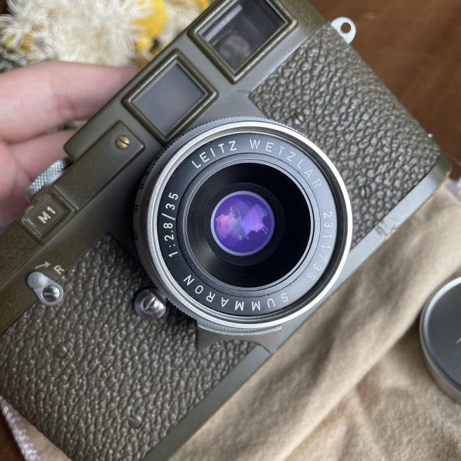 """珍品 Leica Summaron 35/2.8 """"little 8elements"""""""