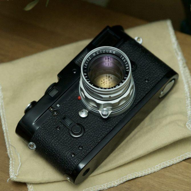 """珍品 Leica Summicron 50/2 v2 """"Rigid"""""""