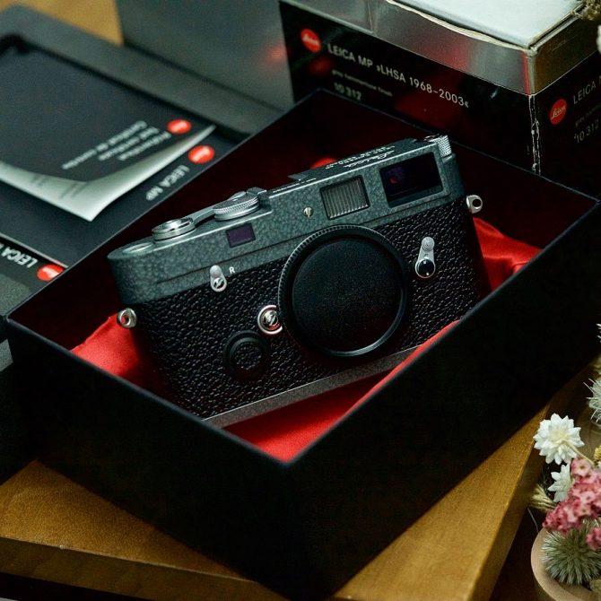 珍品 Leica MP Hammertone LHSA 1968-2003 Special Edition 10312