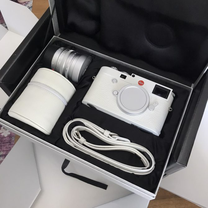 """Leica M10-P """"White"""" Special Edition with 50/1.4 ASPH"""