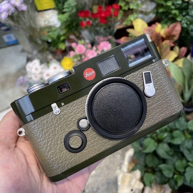 """珍品 Leica M6 TTL 0.85 """"Safari"""" Special Edition 10478"""
