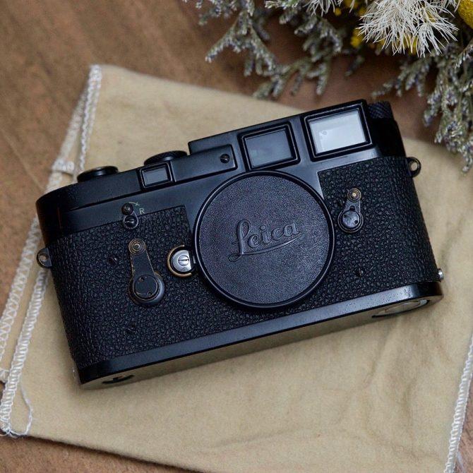珍品 Leica M3 Black Paint