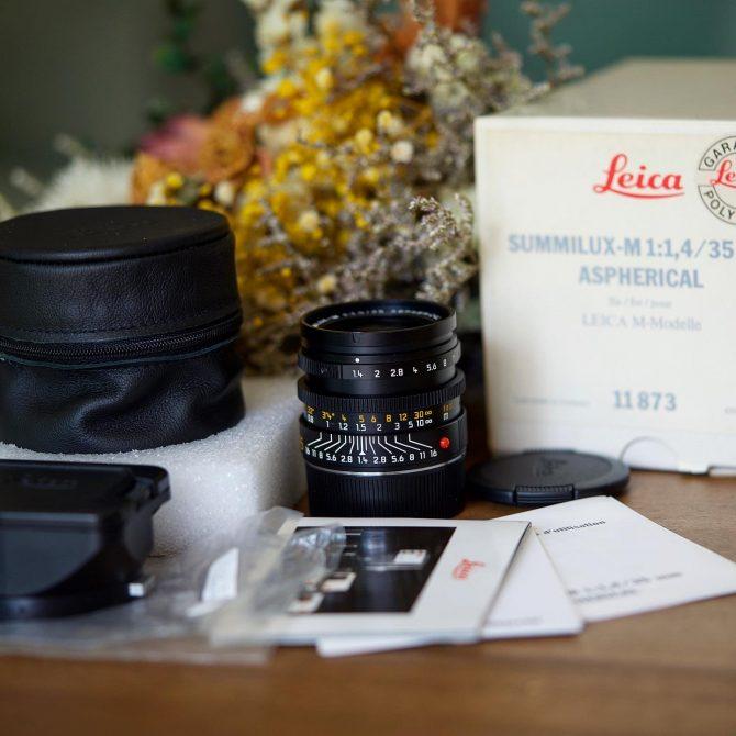大珍品 Leica Summilux 35/1.4 Aspherical 11873