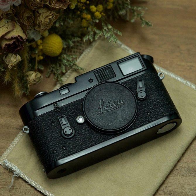 珍品 Leica M4-M Black Paint